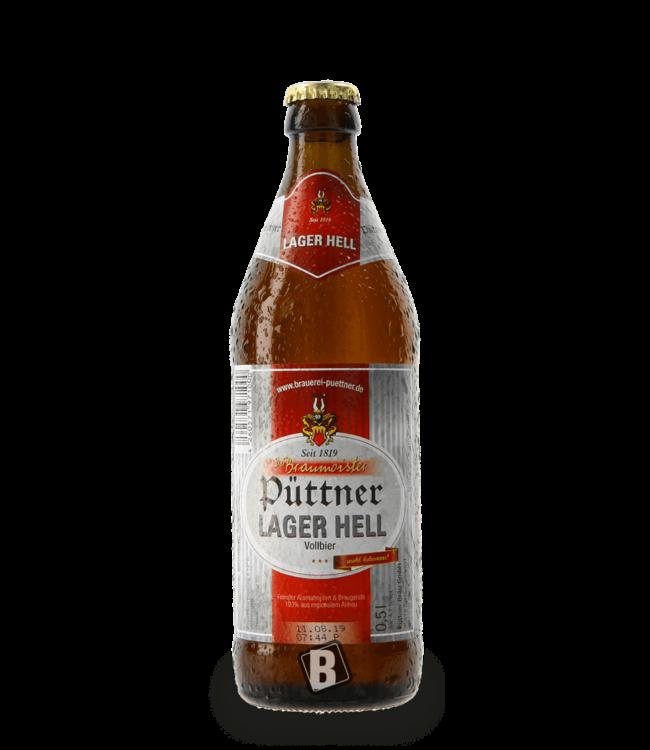 Brauerei Püttner Püttner Lager Hell
