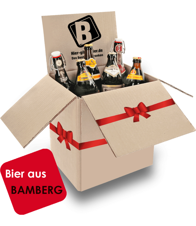 Beer package Bamberg - gift package