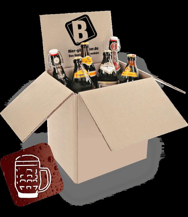 Dark beer package