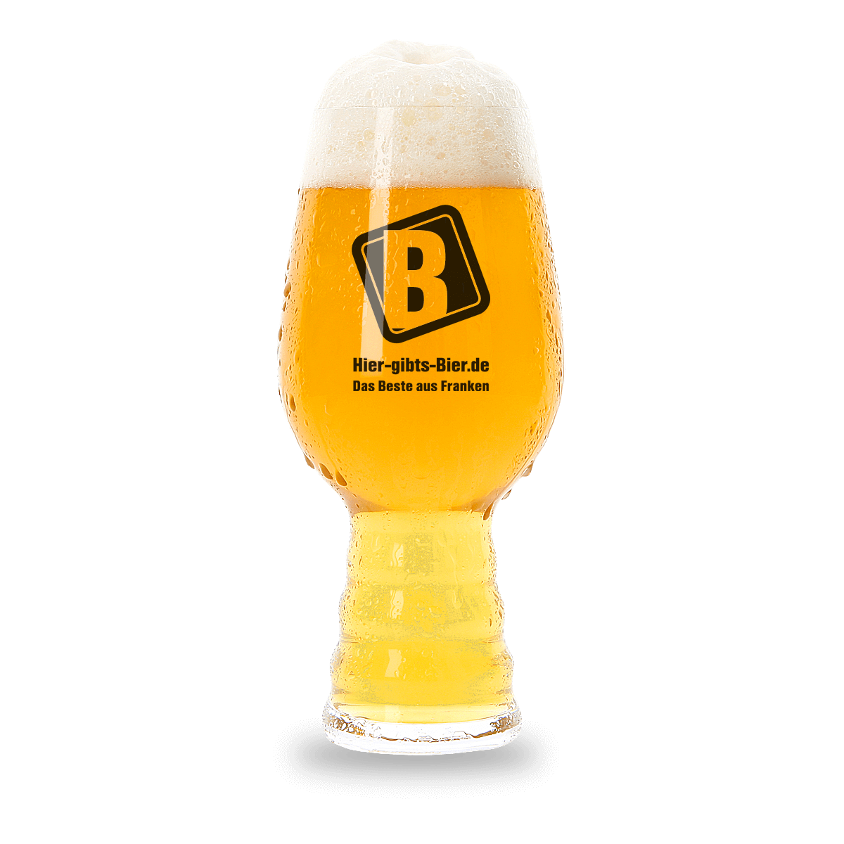 Verkostungsglas Bier