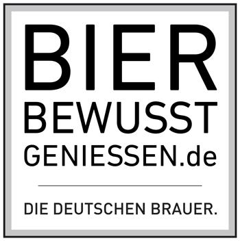 Bier bewusst genießen Logo