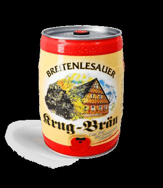 Krug Bräu Breitenlesauer Lager  - 5 Liter
