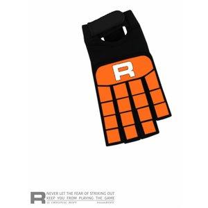 ROFY Half Finger Handschoen Classic Orange