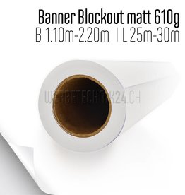 Banner Blockout matt