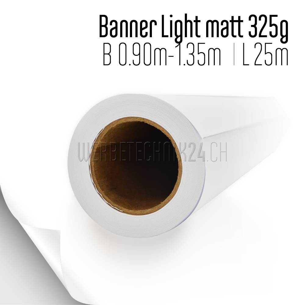Banner Light matt IJM663 B1 325g