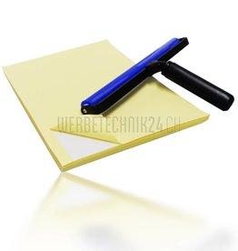 Kit: Rouleau de nettoyage antistatique pro & Papier adhésif de nettoyage