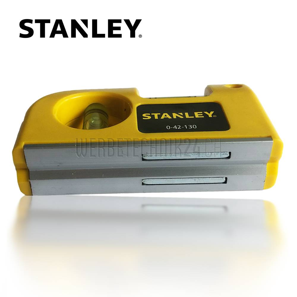 STANLEY® Niveau à bulle de poche aimenté