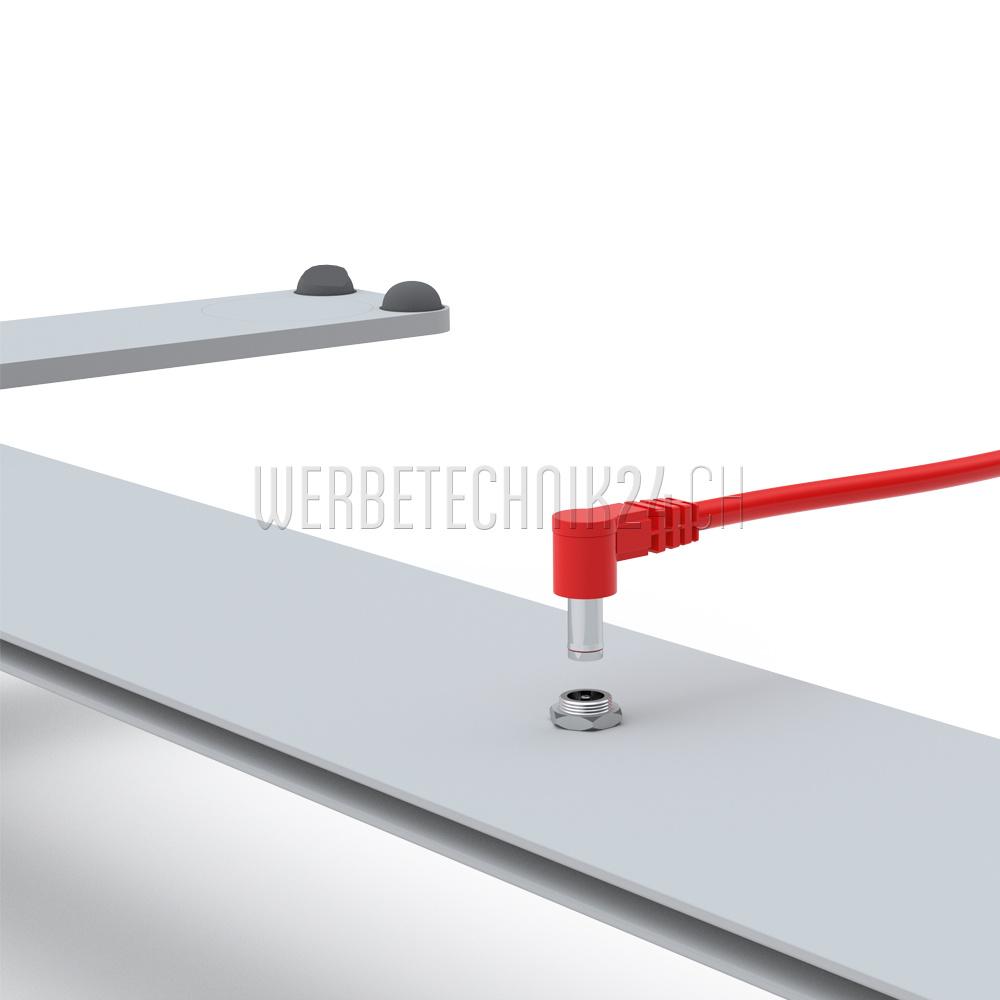 LEDUP -  100 x 200cm mit Druck