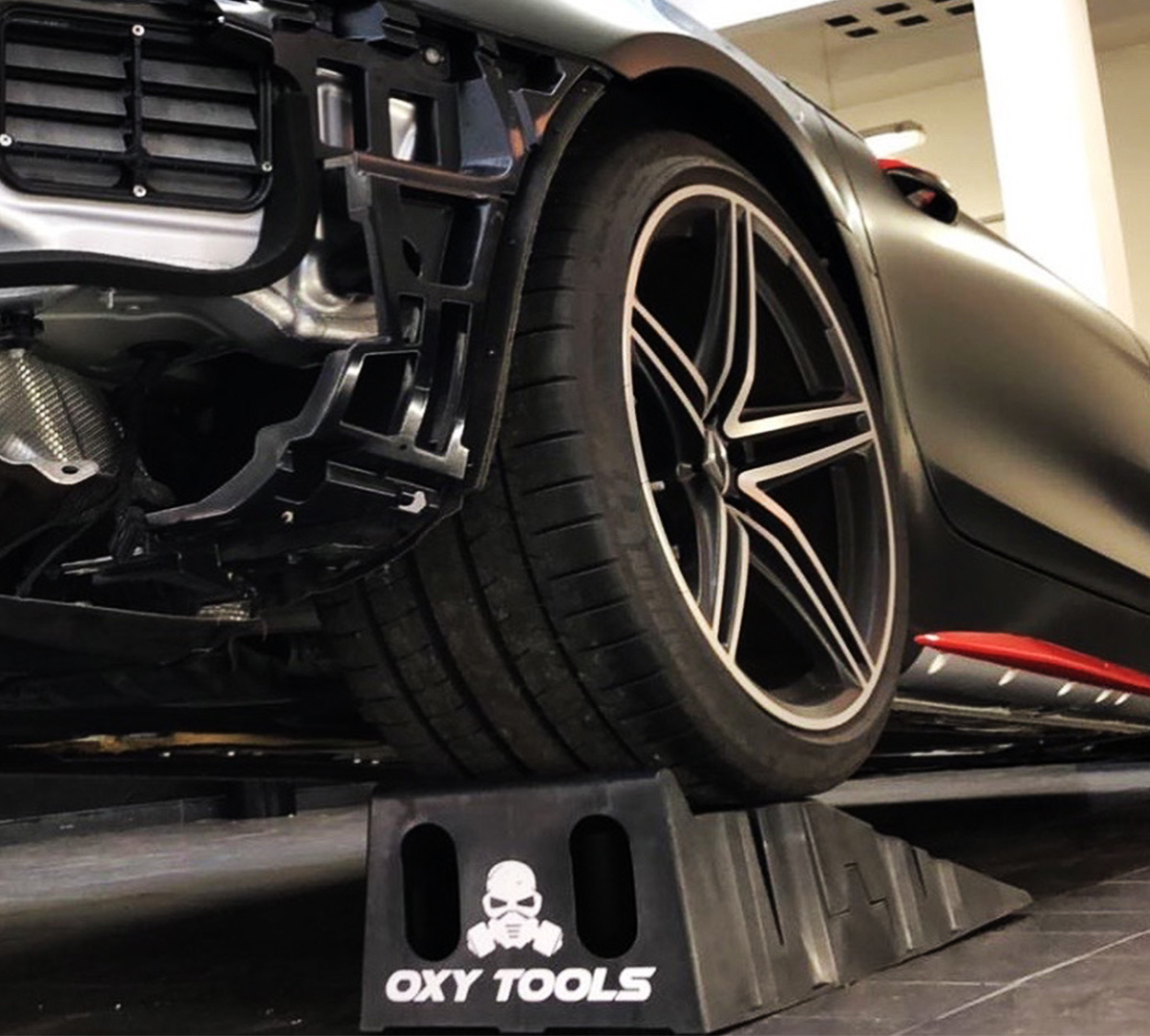 Oxy Tools Tank Wrapping Ramps