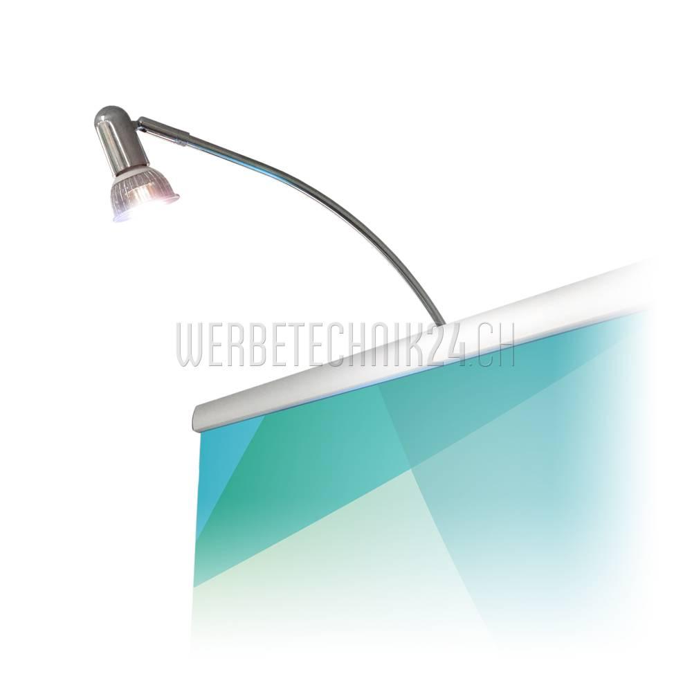 LED Display-Klemmleuchte