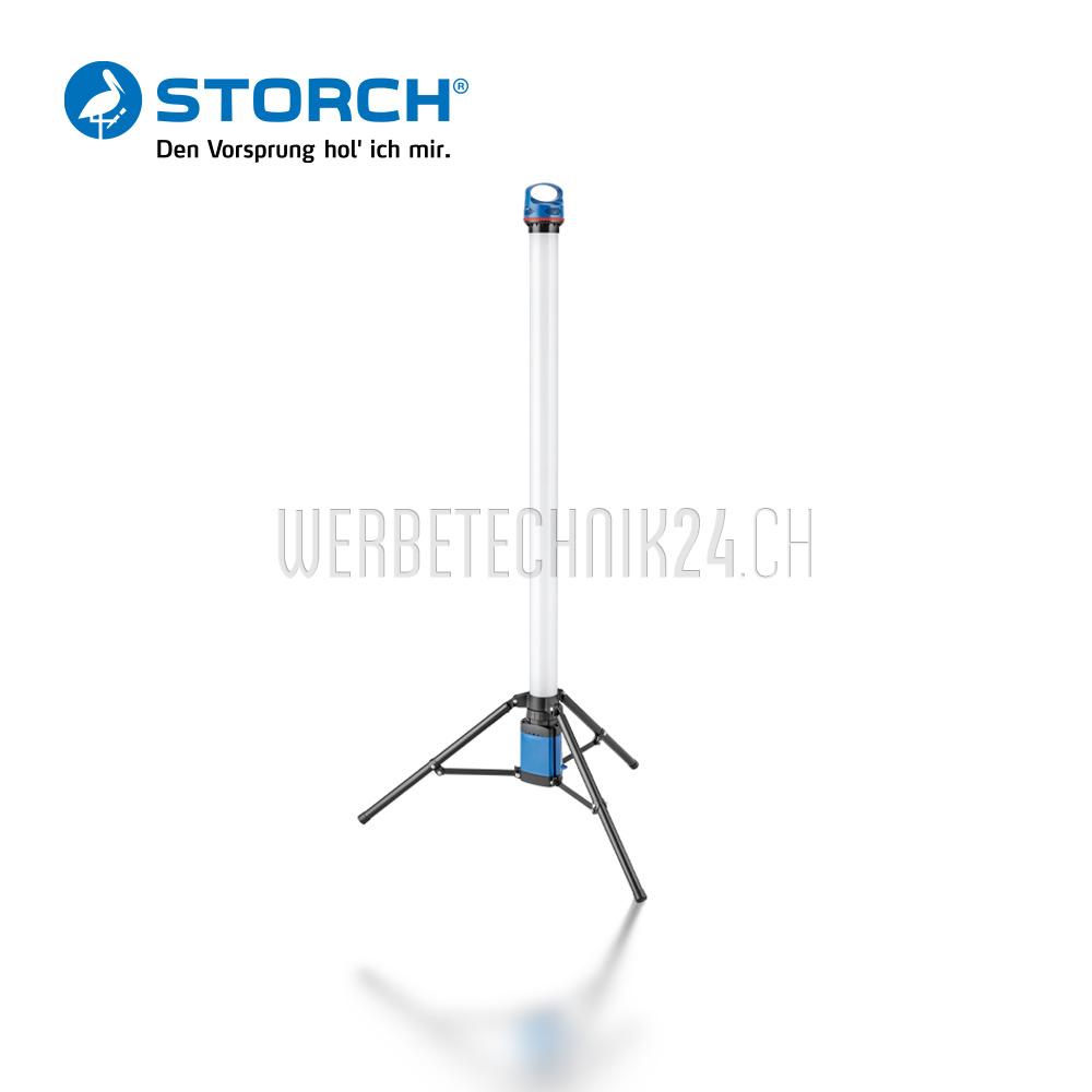 Tour LED 360°, hauteur150cm, 36W à accu