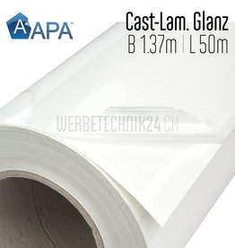 Polymer-Laminat Cast Glanz / 1.37m