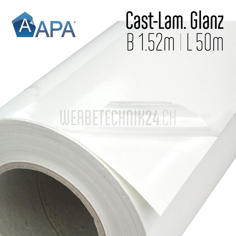Polymer-Laminat Cast Glossy  L991.40 - 1.52m