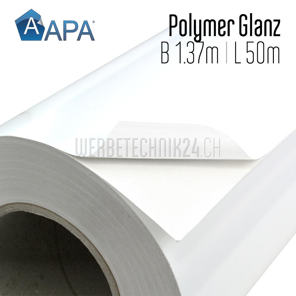 AP/909-BB Polymer Glanz Permanent (Kleber Grau) 1.37m