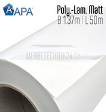 Polymer-Laminat Matt 1.37m