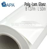 Polymer-Laminat Glanz 1.37m