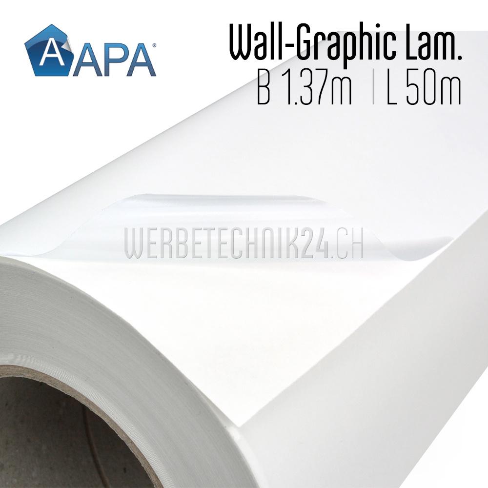 APA Wall-Graphic Laminat glanz