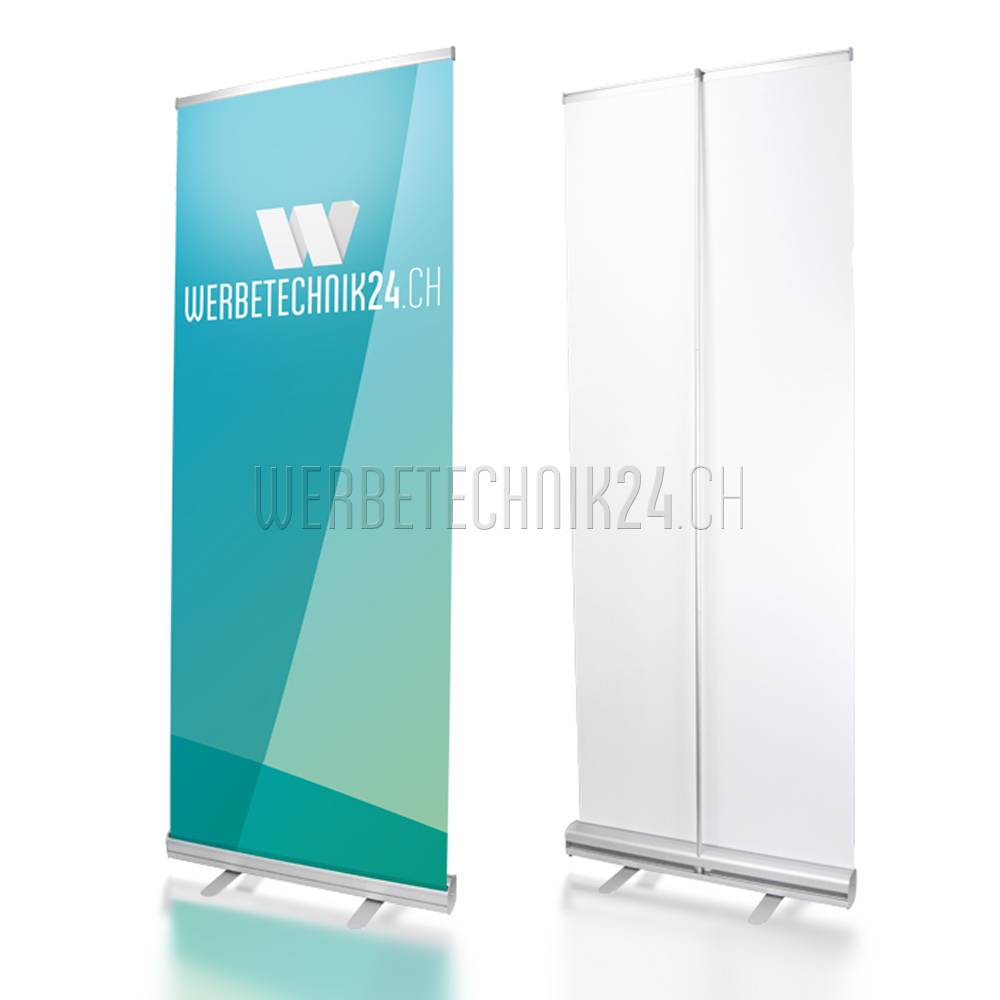Roll-Up Classic 80x200cm Megapack 6 pièces