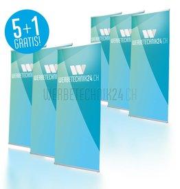 L-Banner Classic 80x200cm Megapack 6 pièces