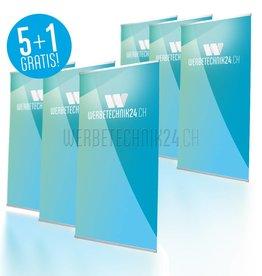 L-Banner Classic 100x200cm Megapack 6 pièces