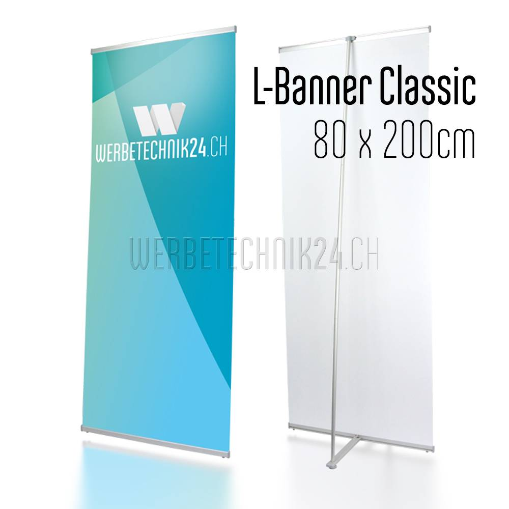 L-Banner Classic 80x200cm
