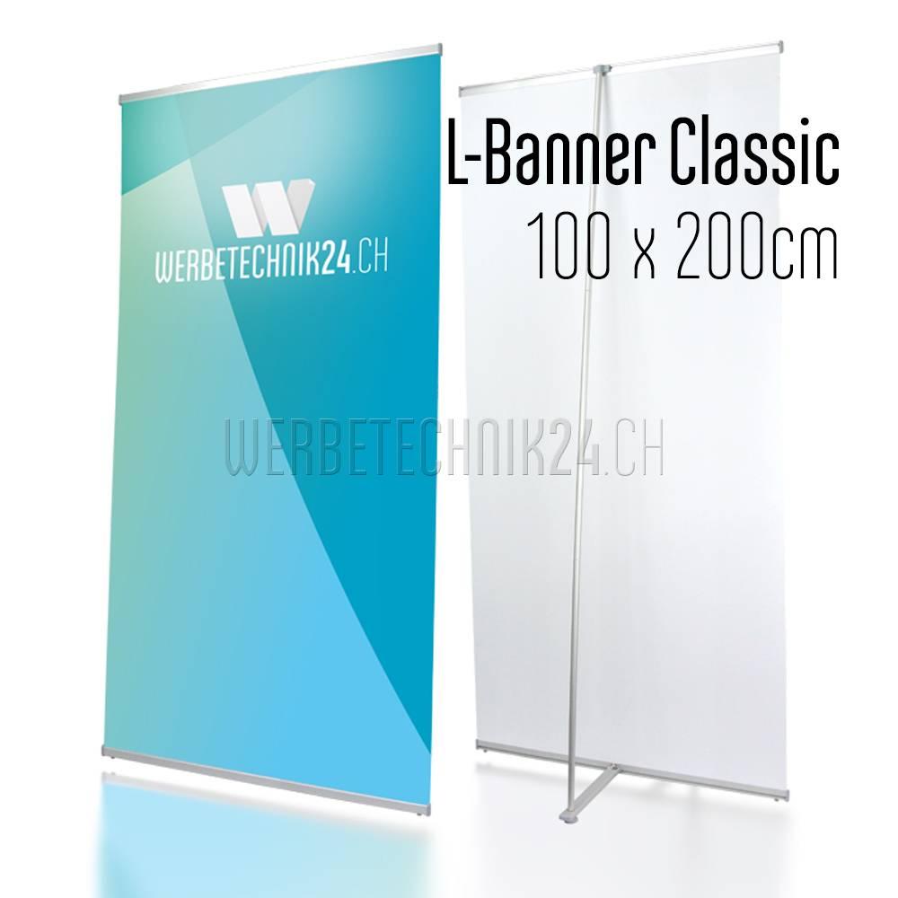 L-Banner Classic 100x200cm