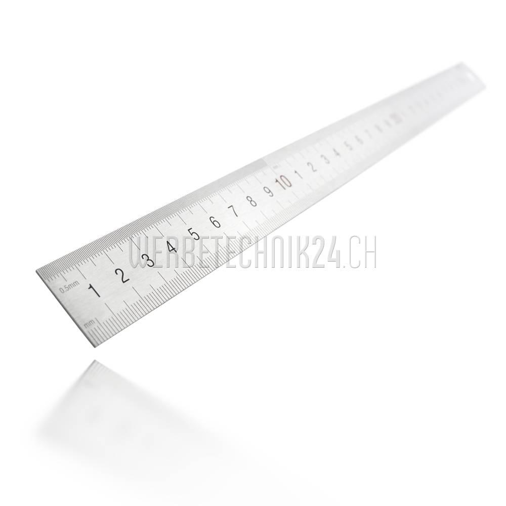 Edelstahl-Maßstab 300mm