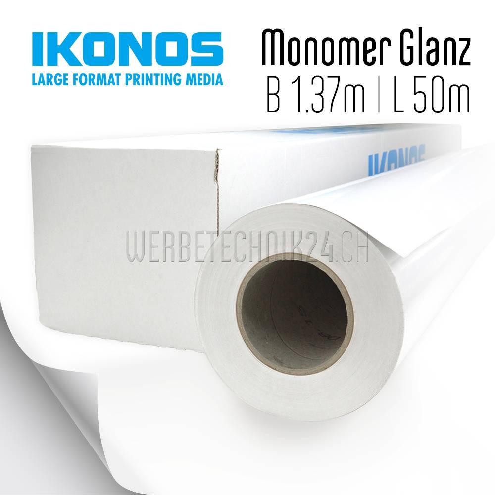 Monomer Glanz Permanent (Kleber Grau) 1.37m