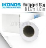 WB 130 Papier Photo semi-mat 130g/m² 1.37m