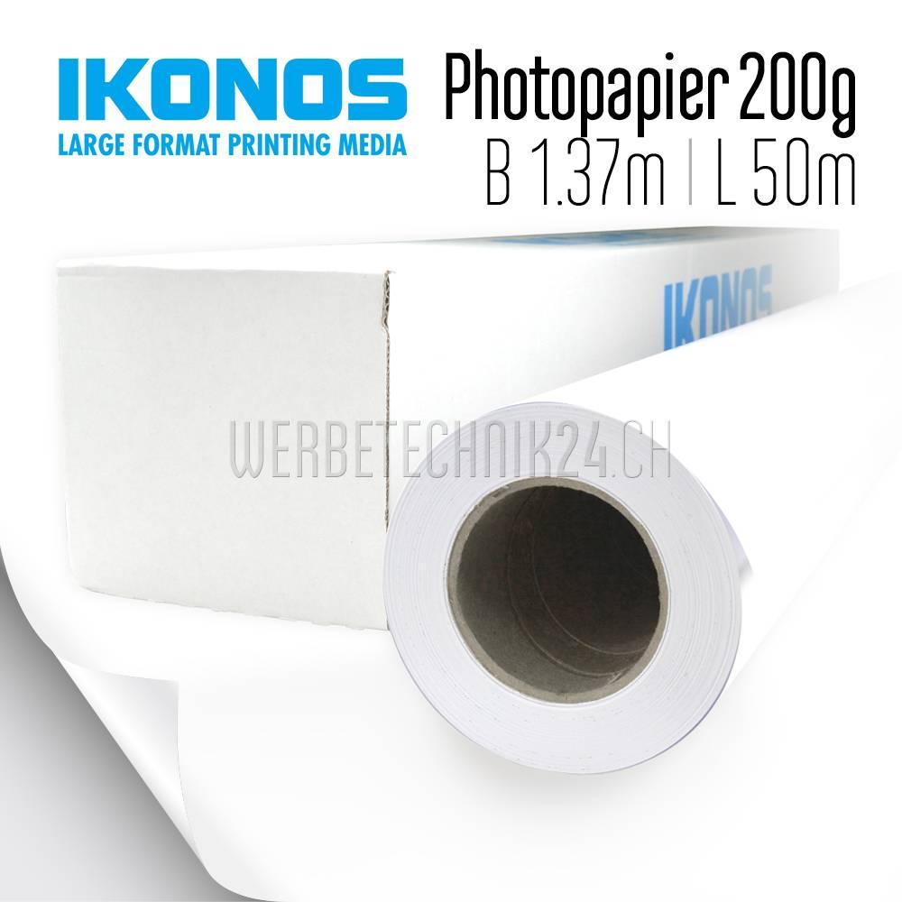 WB 200 Photopapier Seidenmatt 200g/m² 1.37m