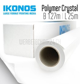 Polymer-Glasdecorfolie Crystal/Frost 1.27m