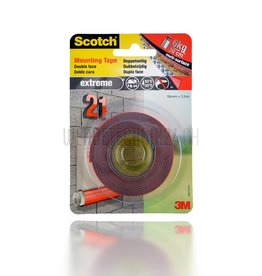 3M™ Scotch Ruban adhésif de montage Extreme 19mm x 1,5m
