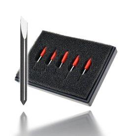 Couteau-traînant 45° (compatible Summa®) 5 pièces