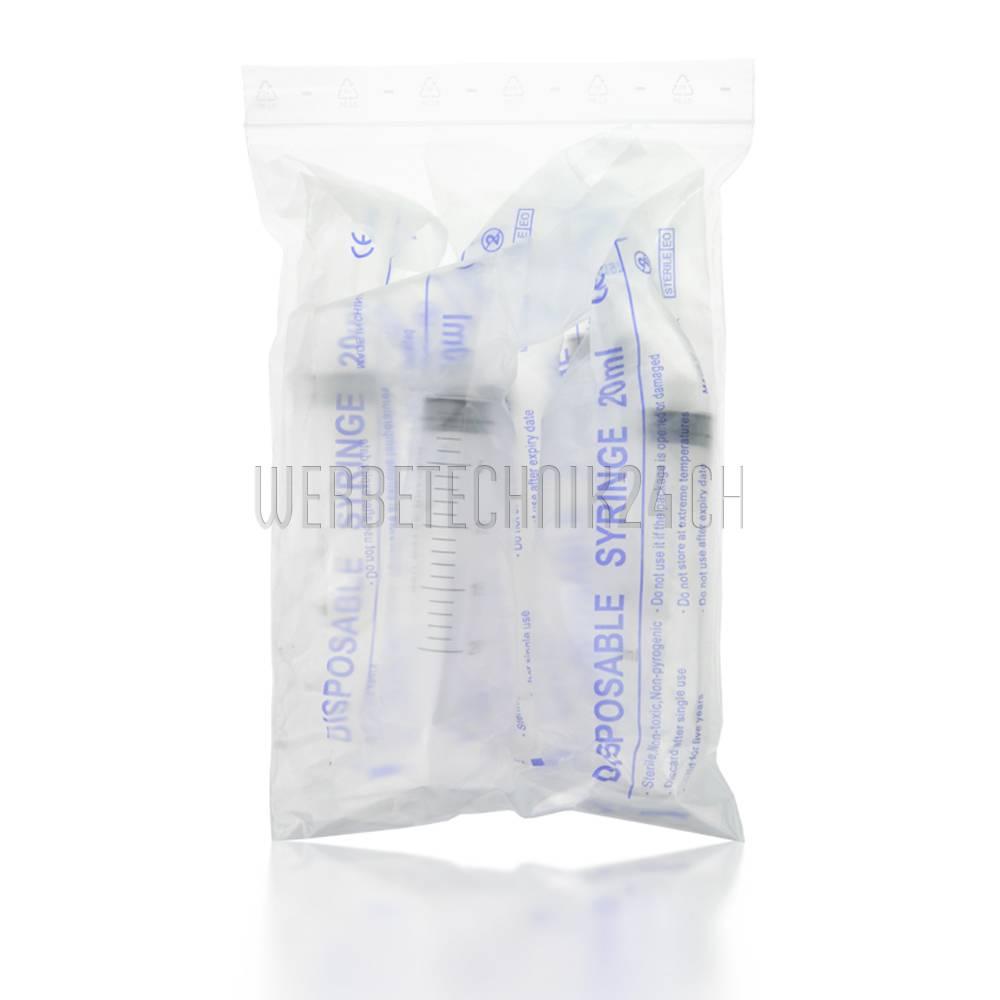Reinigungs-Spritzen 20ml Luer-Lock (5 Stk.)