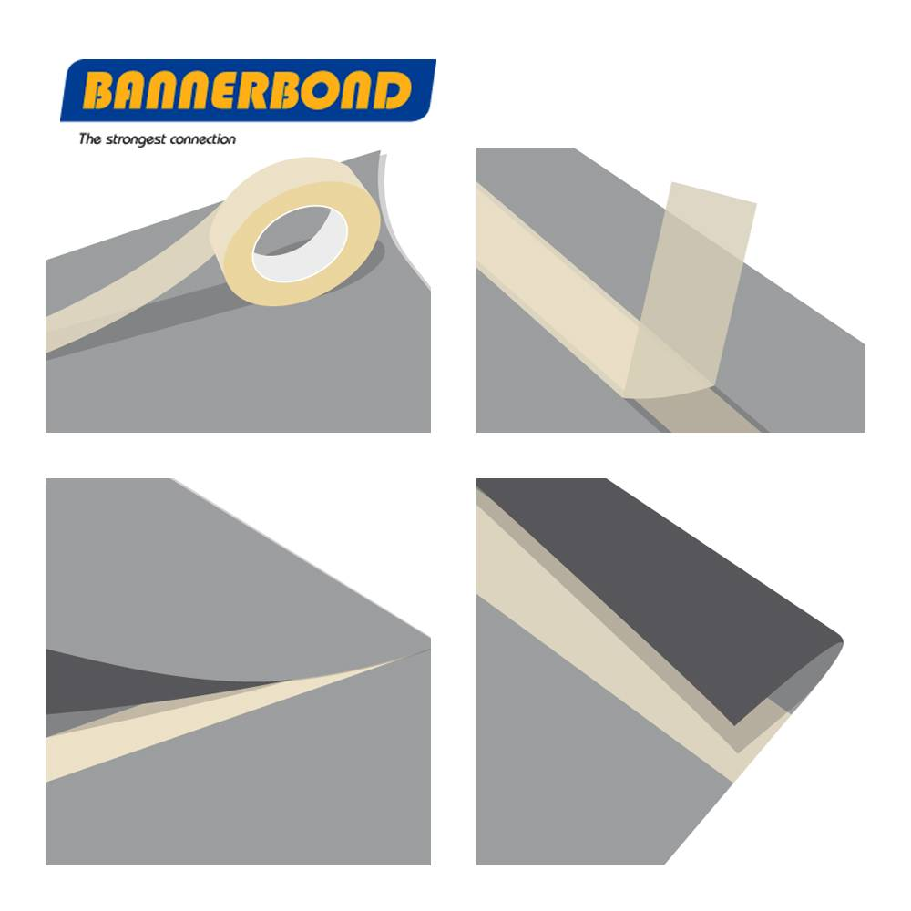 BANNERBOND® Klebeband 25mm x 25m