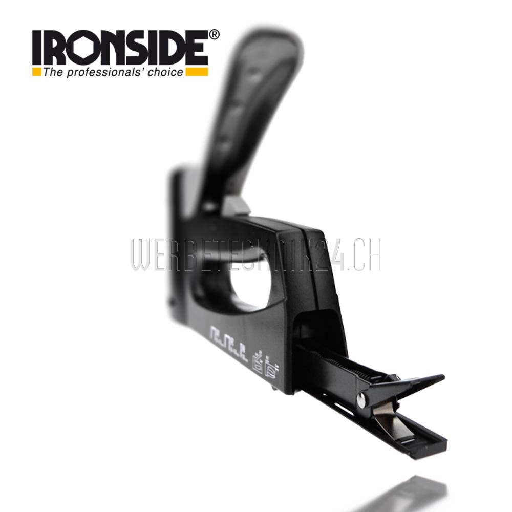 IRONSIDE® Agrafeuse à main Combi 6-14mm