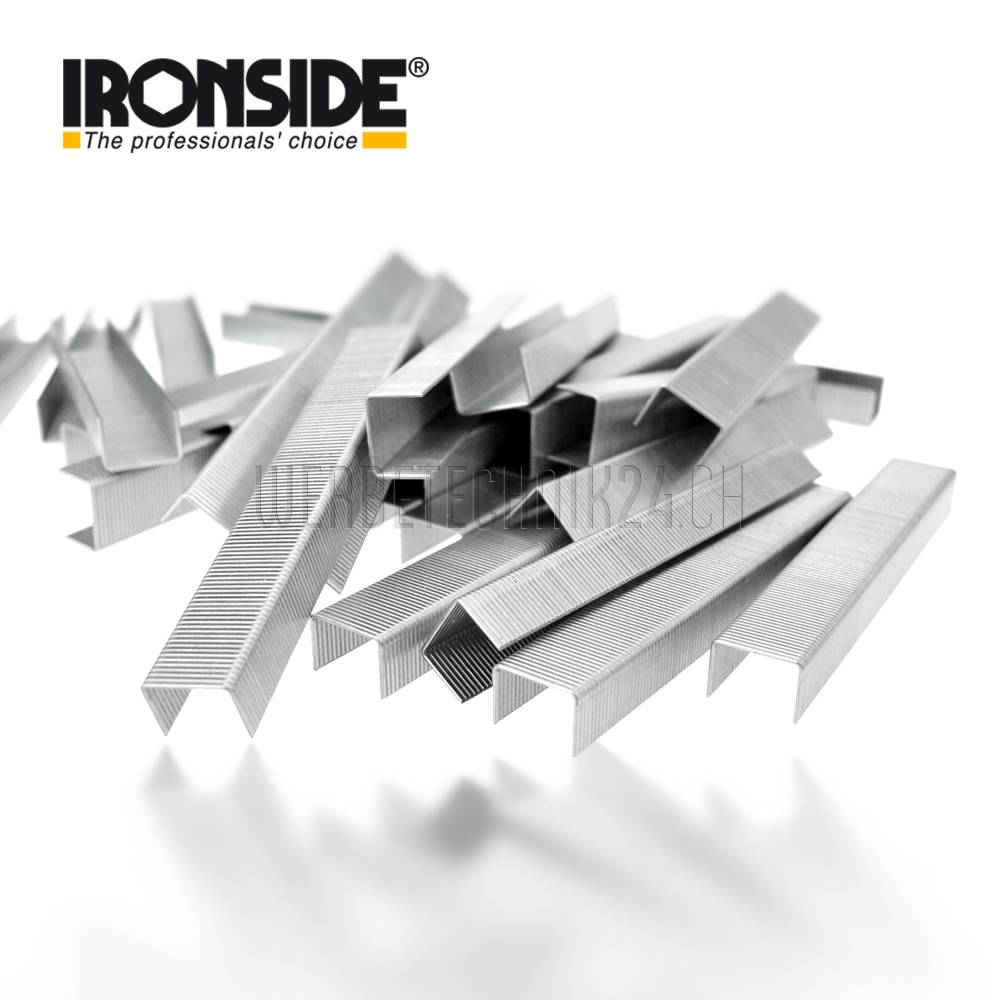 IRONSIDE® Heftklammern M-8mm (3'000 Stk.)