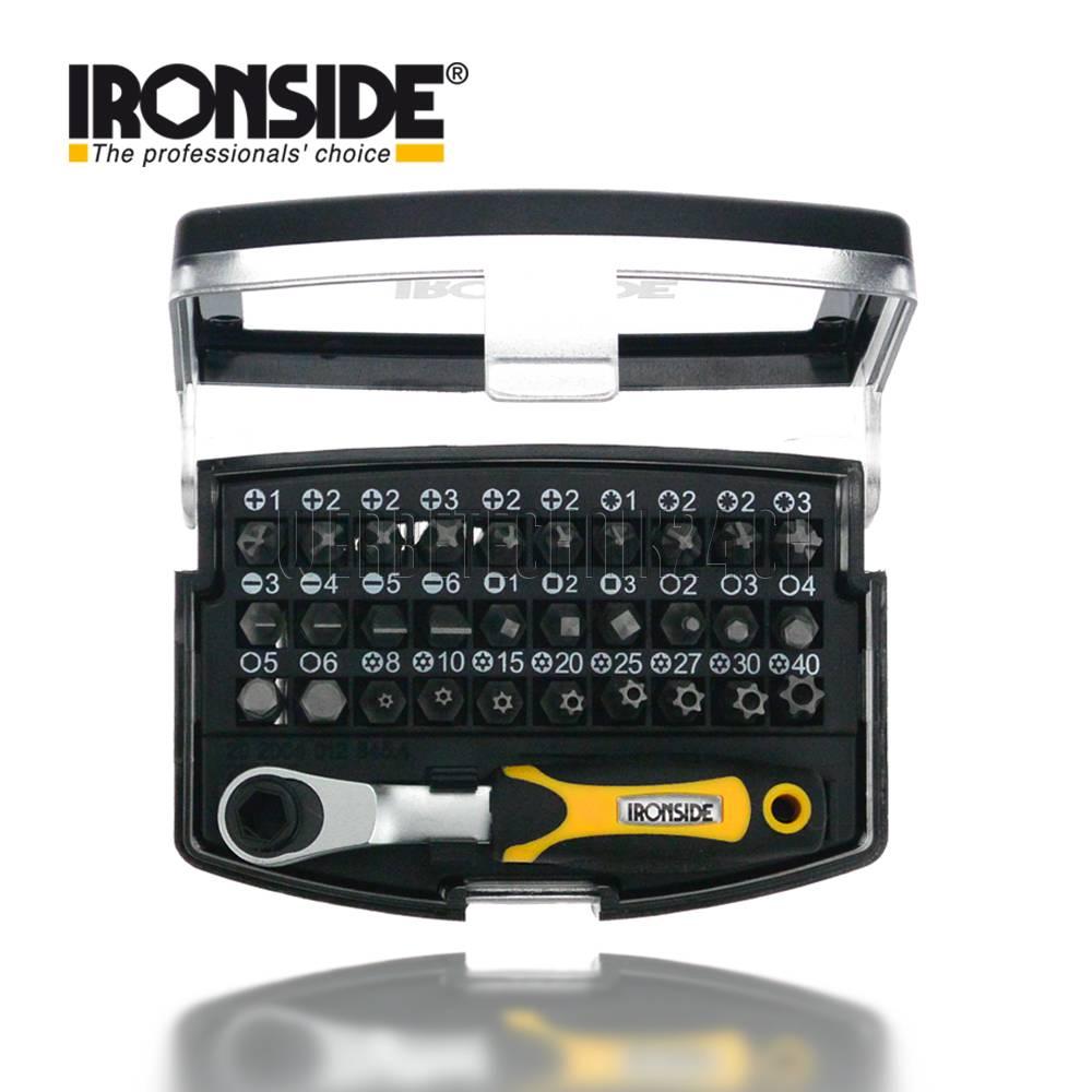 IRONSIDE® Bit-Set 31 tlg. mit Ratsche