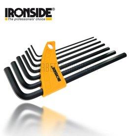 IRONSIDE® Jeu de clé Imbus (7pces)