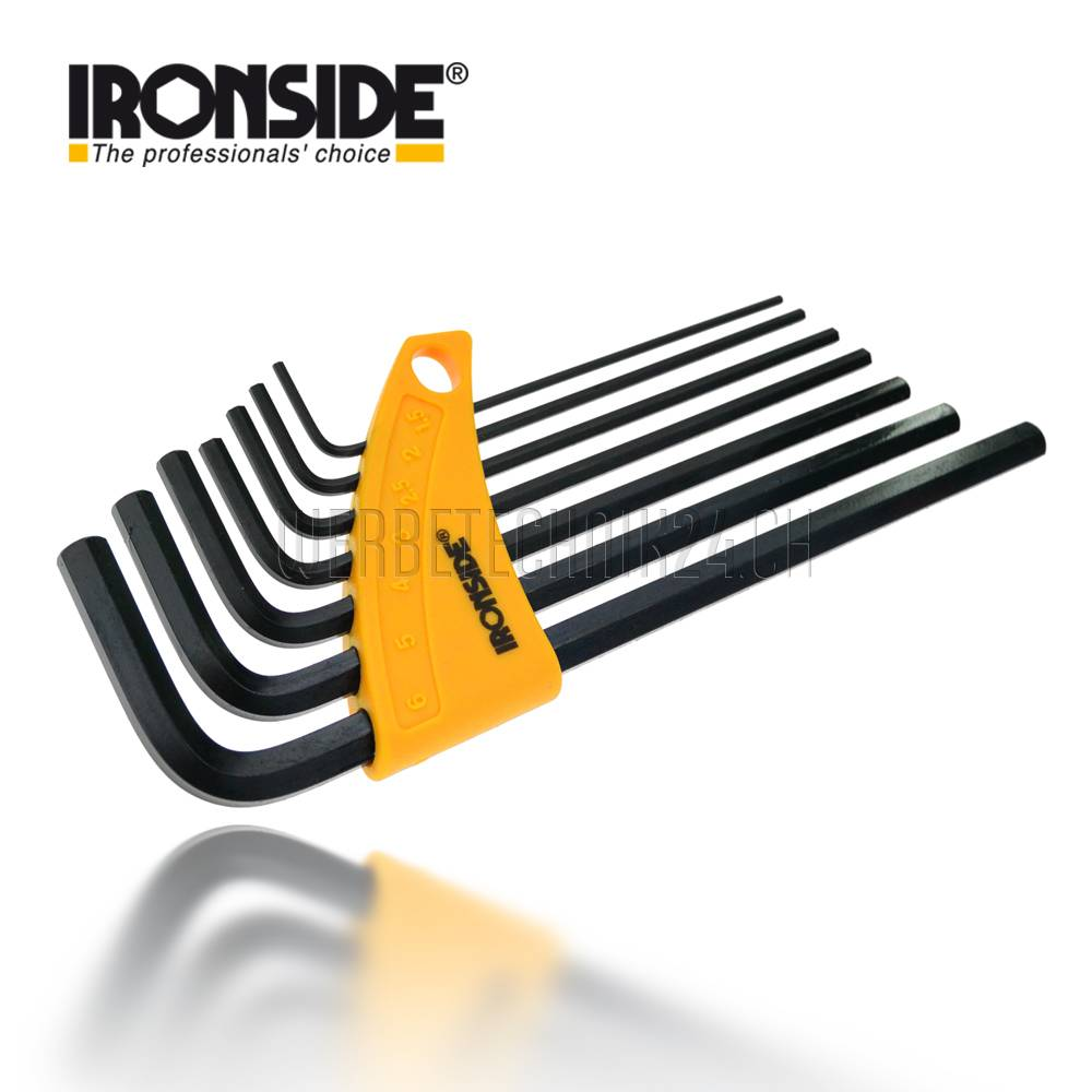 IRONSIDE® Inbusschlüsselsatz 7 tlg.