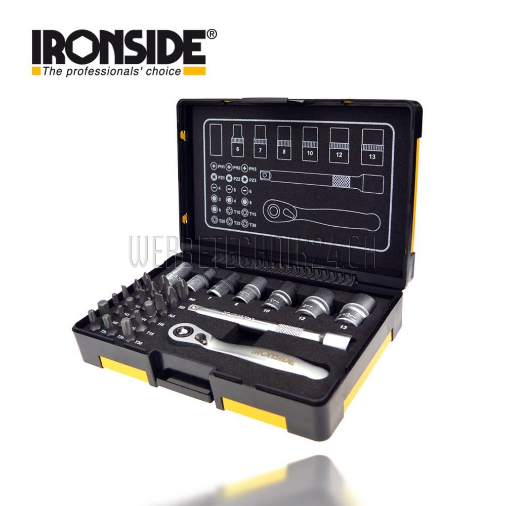 IRONSIDE® Steckschlüsselsatz 27 tlg.