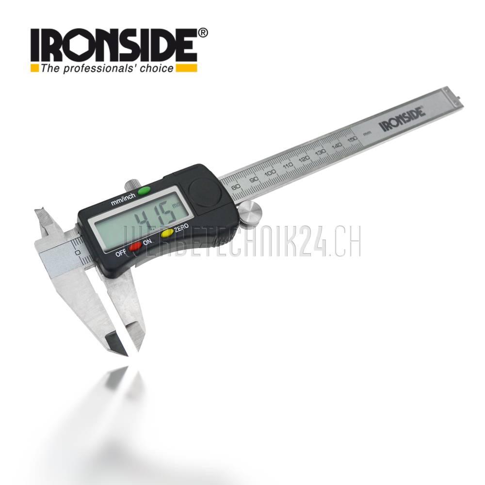 IRONSIDE® Digital-Schieblehre 200mm