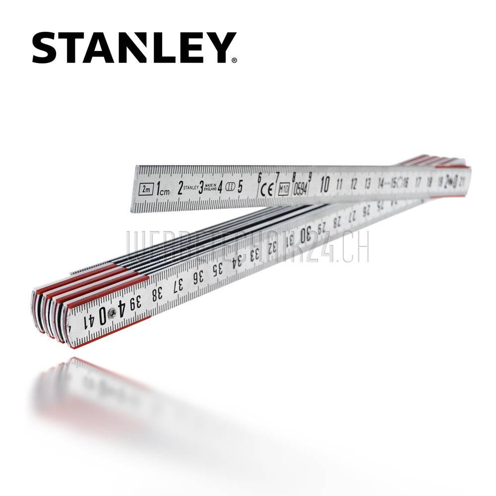 STANLEY® Gliedermeter Aluminium 2m