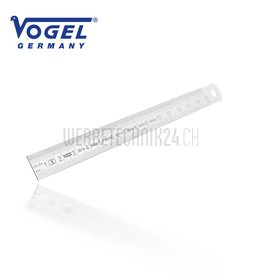 VOGEL® Règle inox flexible  150mm