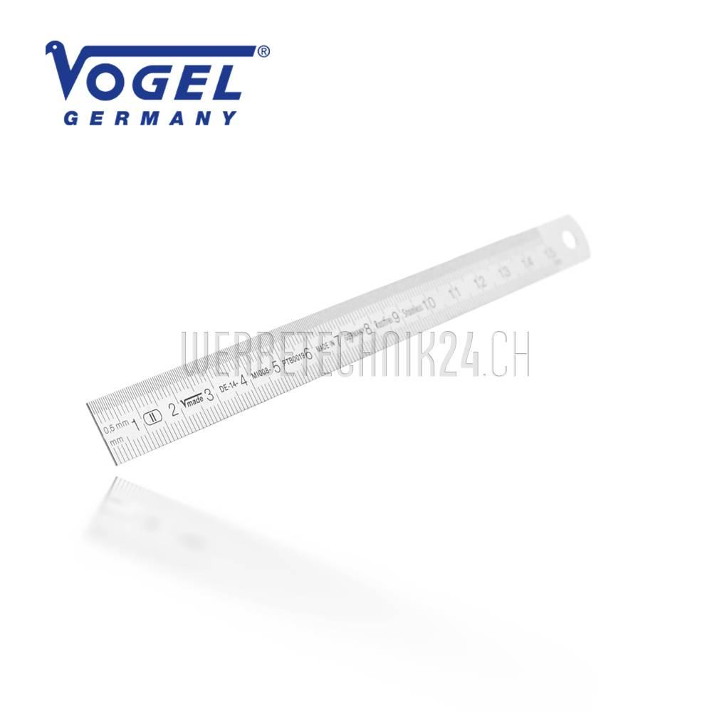 VOGEL® Stahlmaßstab flexibel 150mm