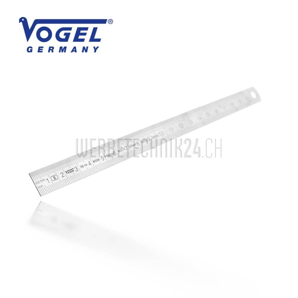 VOGEL® Stahlmaßstab flexibel 200mm