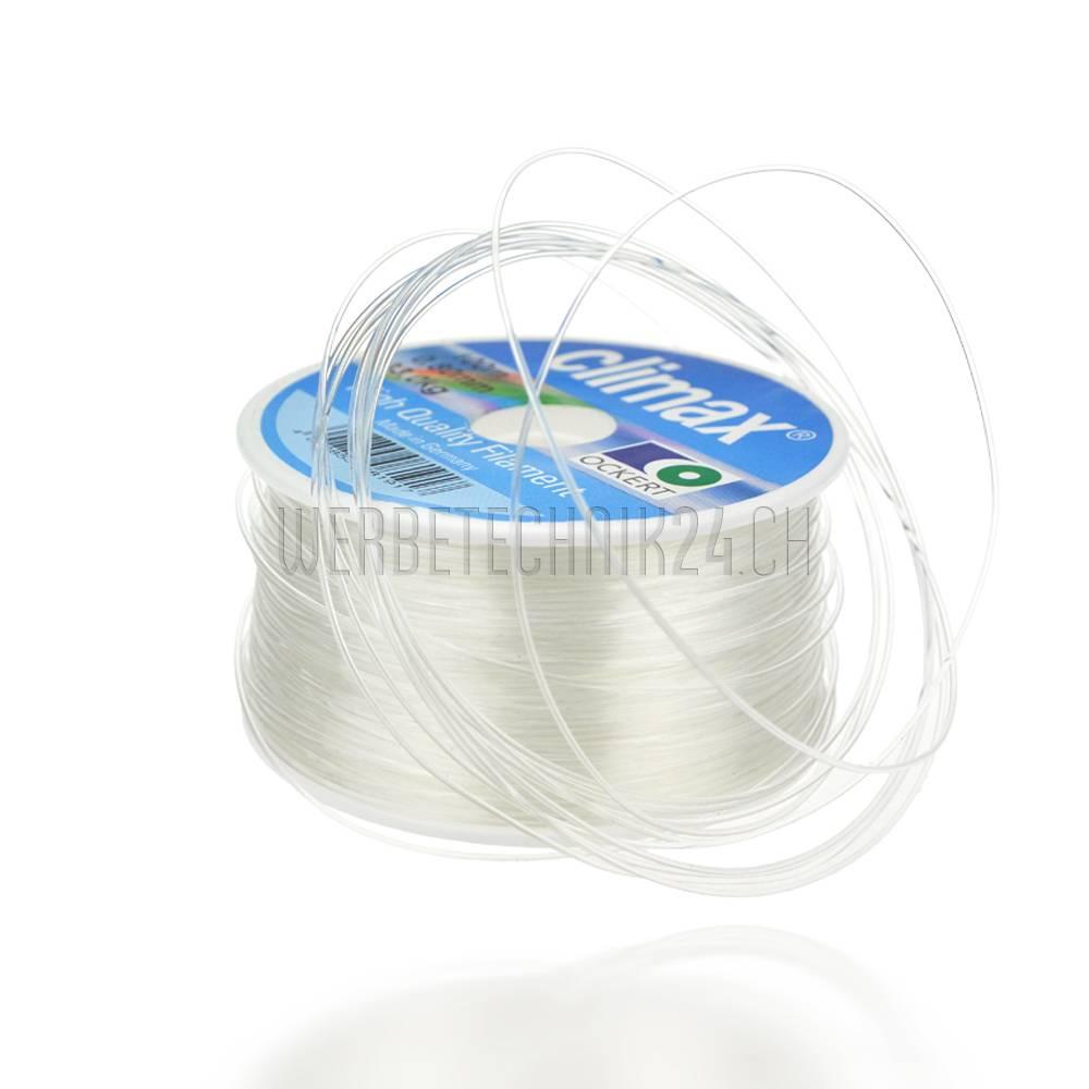 Corde en  Perlon ø0,8 mm transparent 100m