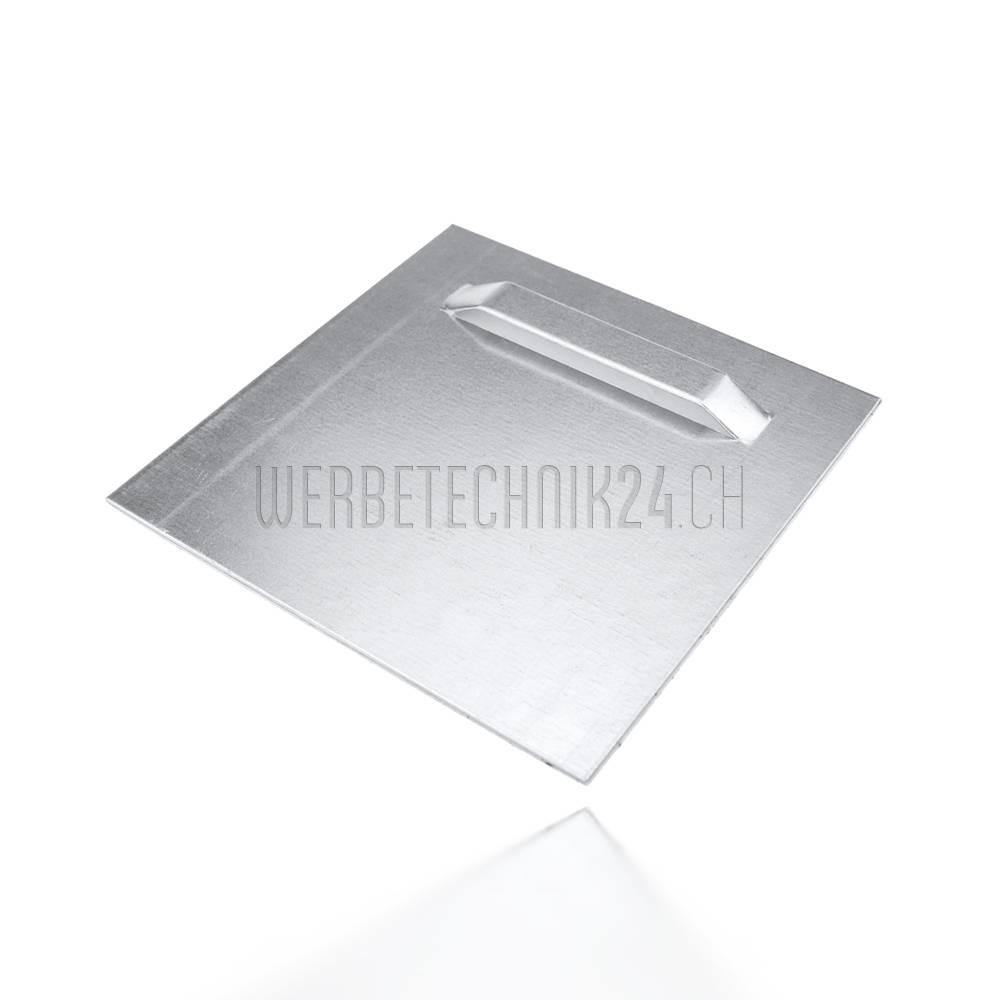 Aufhängeplatte selbstklebend 100x100mm