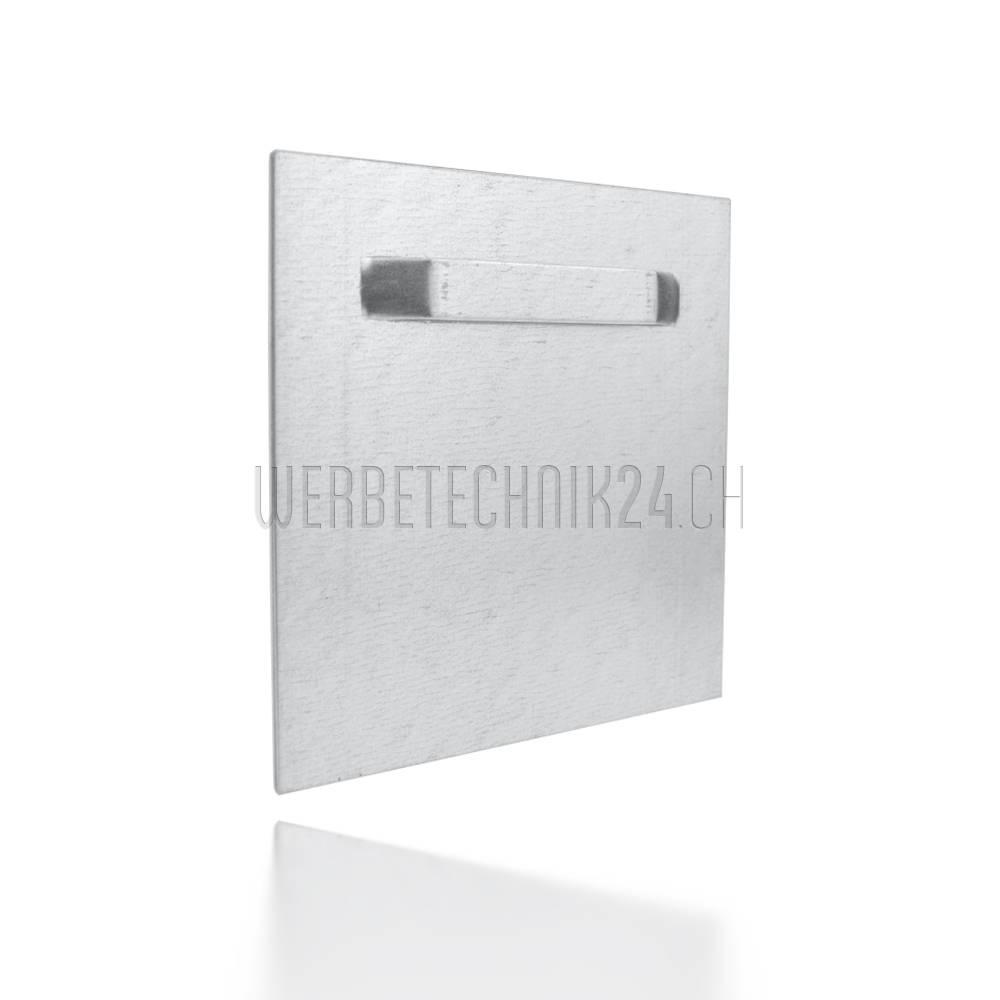 Aufhängeplatte selbstkl. 100x100mm Megapack