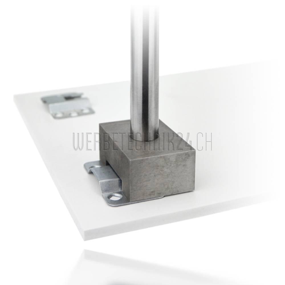 Krallen-Metallaufhänger 28x50mm (20 Stk.)